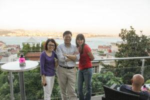 Abendveranstaltung mit Kollegen aus China und Taiwan