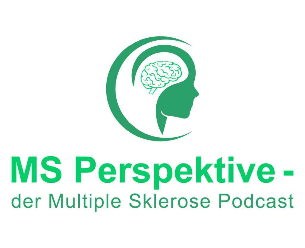 "Logo vom Podcast ""MS-Perspektive - der Multiple Sklerose Podcast"""