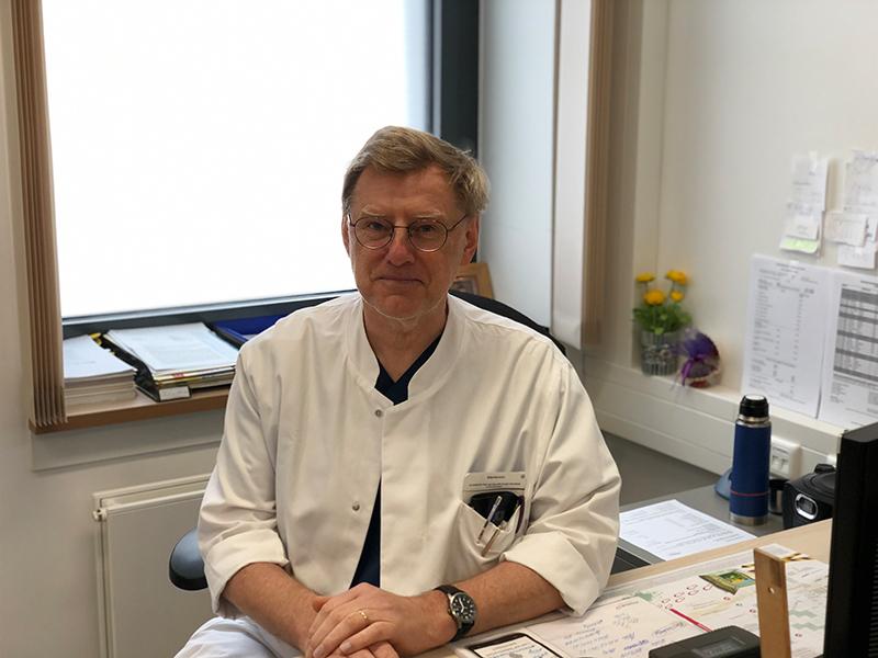 Dr. Datzmann, leitender Oberarzt am MS-Zentrum im Bezirksklinikum Mainkofen