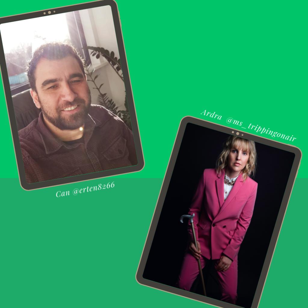 Fotos von Can Erten und Ardra Shephard zum Welt-MS-Tag 2021