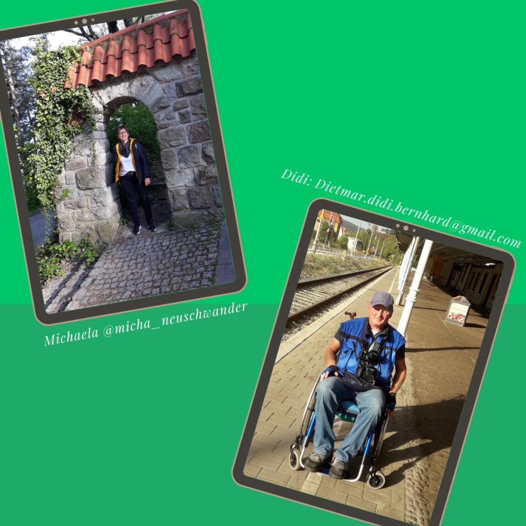Fotos von Michaela Neuschwander und Didi Bernhard zum Welt-MS-Tag 2021