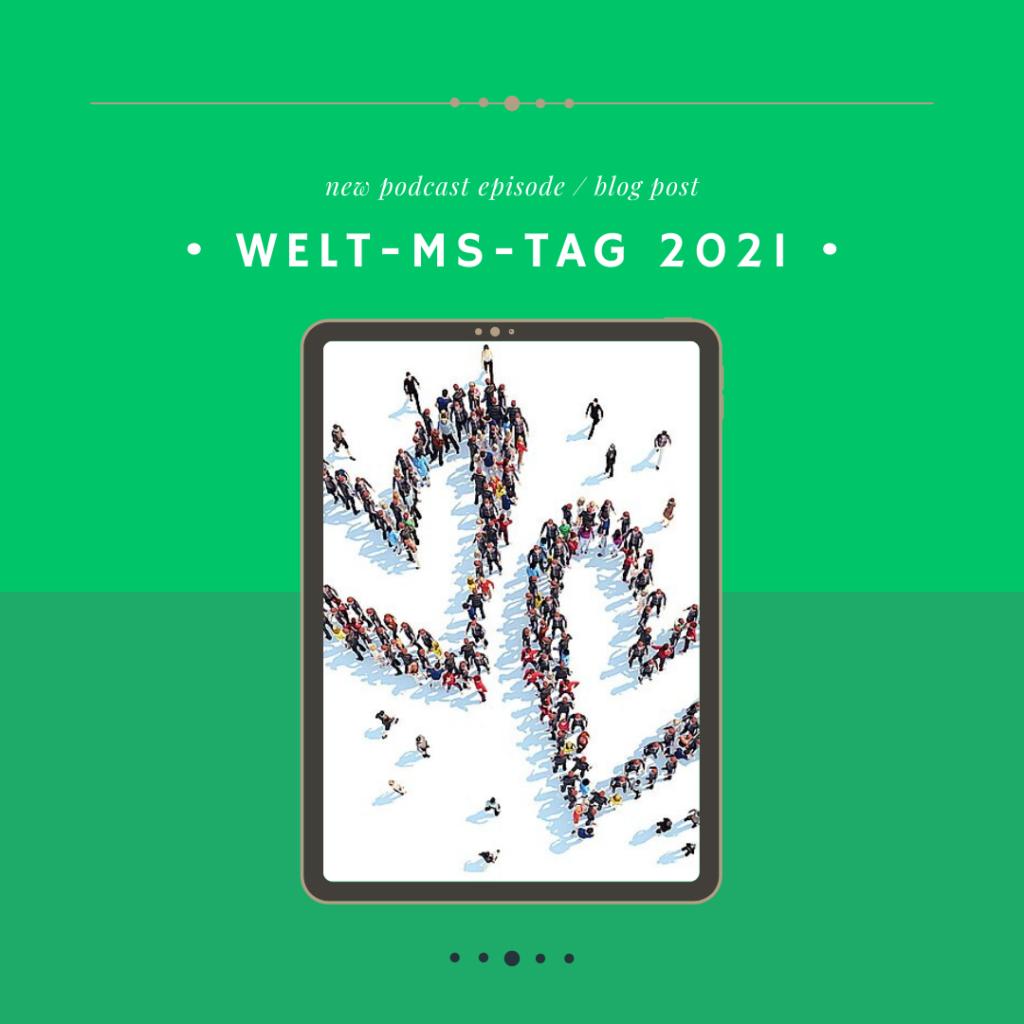 """Coverbild zum Welt-MS-Tag 2021 """"Stay connected - Wir bleiben in Verbindung"""""""