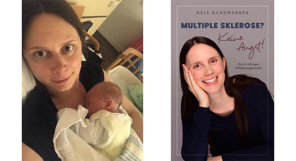 """Fotos von Nele Handwerker zu Vortrag und Lesung in der Woche des Welt-MS-Tages 2021 mit dem Motto """"Stay Connected""""."""