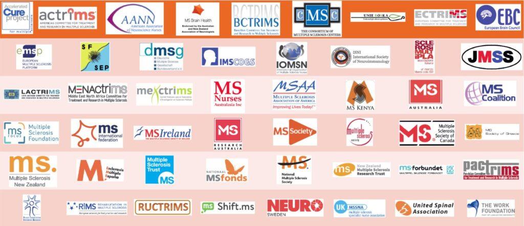 MS Brain Health Grafik - MS Organisationen weltweit