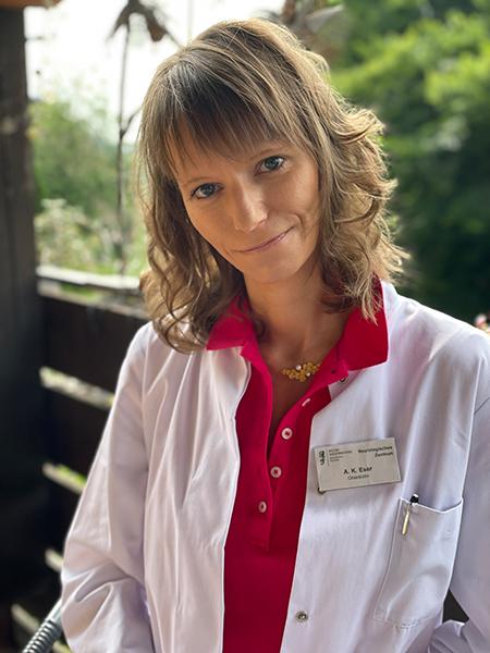 Foto der Oberärztin Anna-Katharina Eser zum Thema Immunadsorption