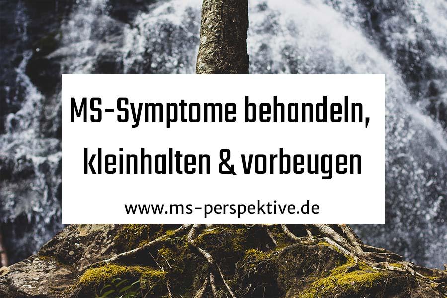 Coverbild für MS-Symptome behandeln, kleinhalten und vorbeugen